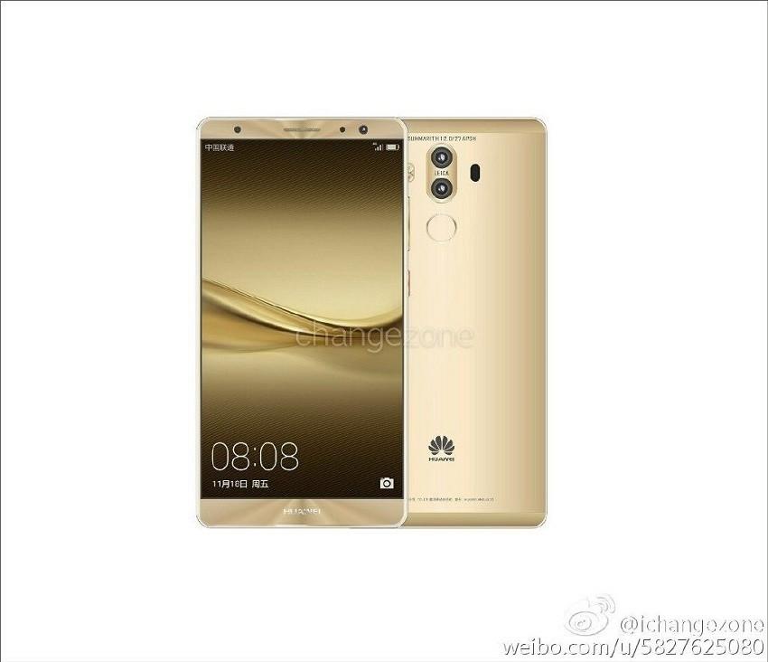 Huawei Mate 9 avrà (forse) doppia camera Leica e 8 colorazioni diverse
