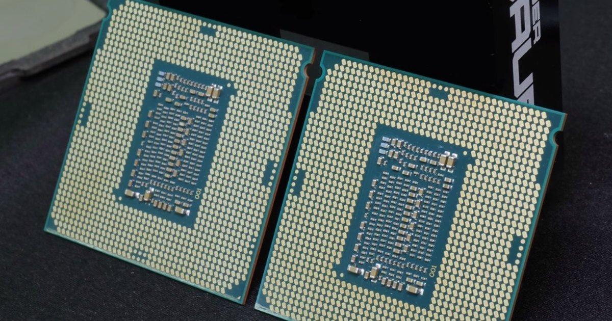 Intel Core i7-8086K overcloccato a 7244 MHz da der8auer