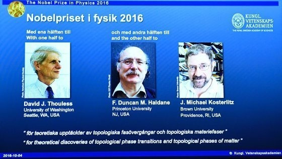 Il Nobel per la fisica alla materia esotica