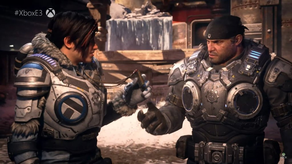 gears of war 5 announced at xbox e3 2018 next year