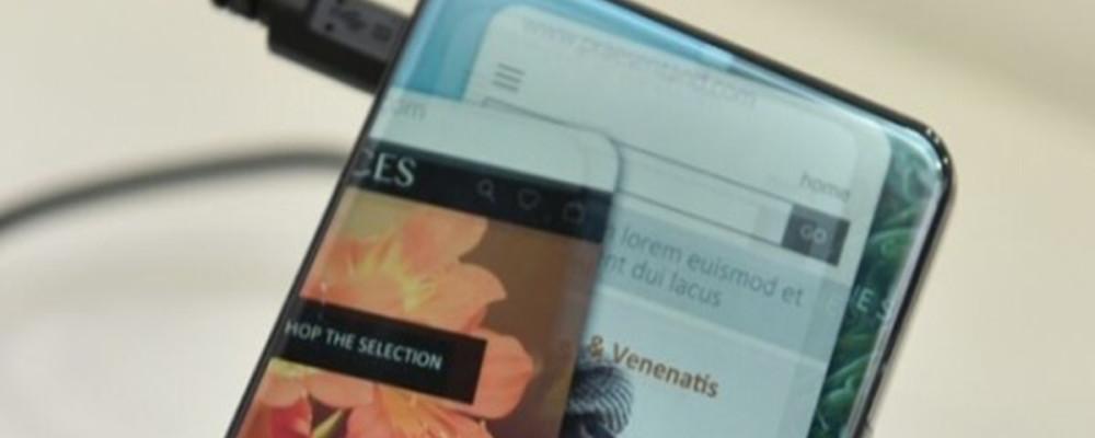 Smartphone Sharp: schermo con angoli curvi, non solo scocca