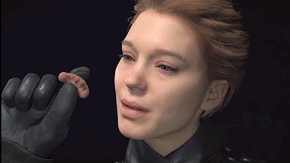 death stranding eating bugs