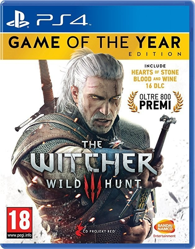 The Witcher III - Game Of The Year - PlayStation 4
