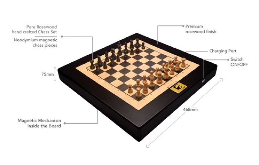 square off smart chess set 1