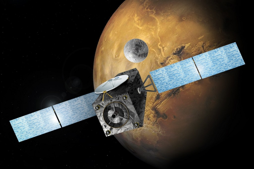 ExoMars EDM deployed engine HIGH RES