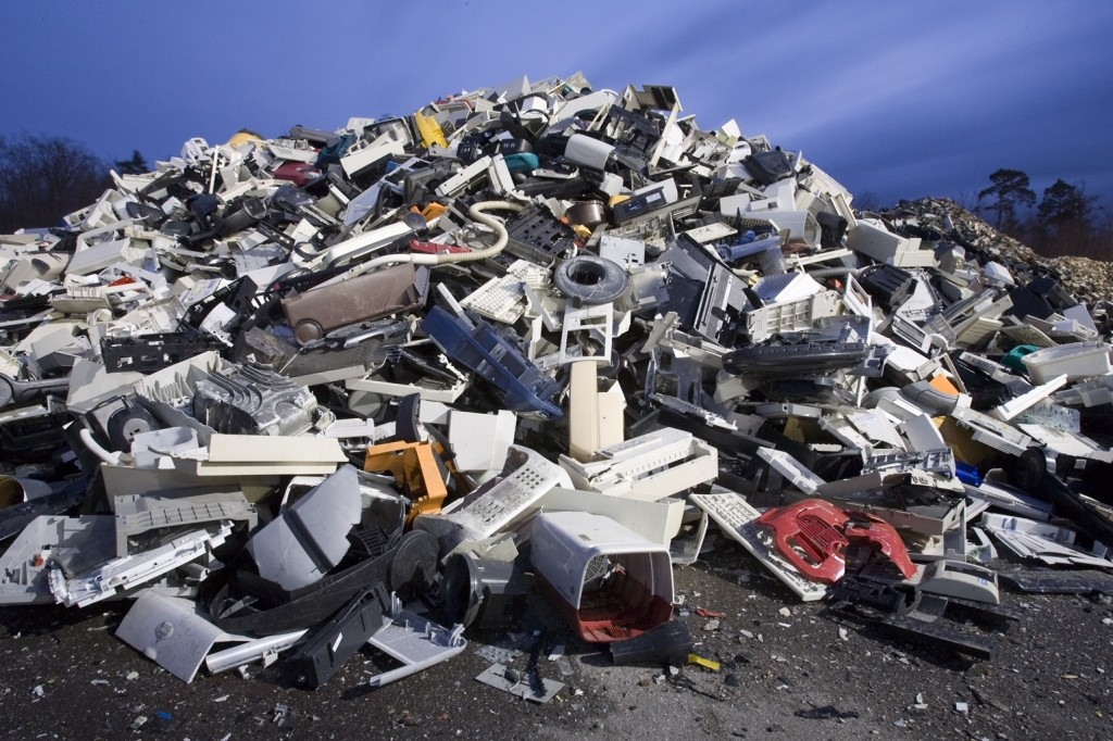 plastics from e waste