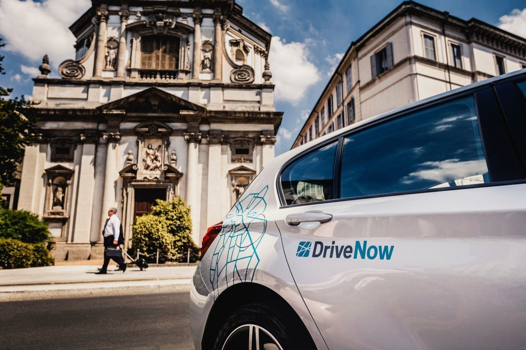 BMW DriveNow, a Milano il car sharing