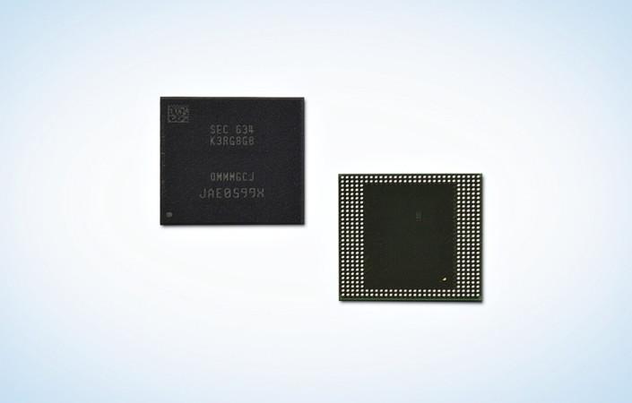 Smartphone con 8 GB di RAM con la nuova memoria Samsung