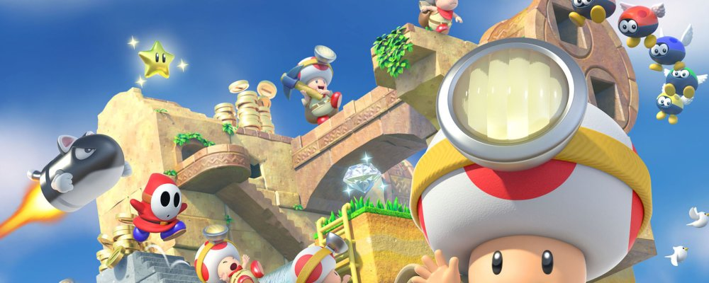 Captain Toad Trasure Tracker