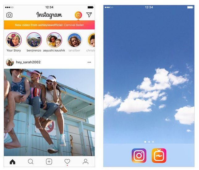 Instagram annuncia la tv in verticale