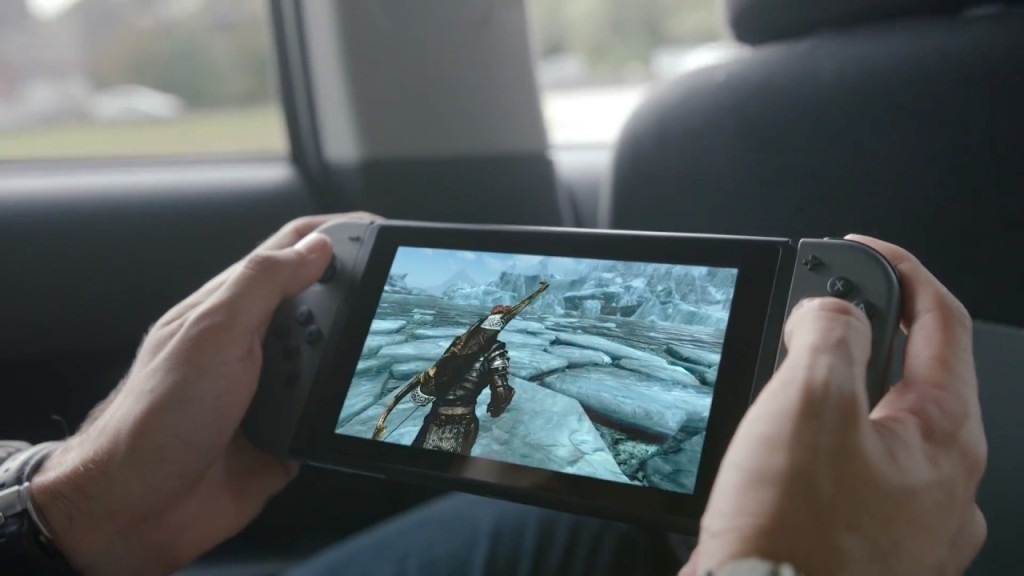 Nintendo Switch, skyrim