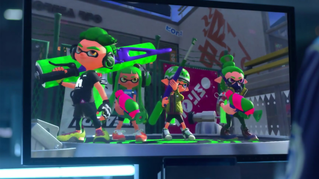 Splatoon Nintendo Switch
