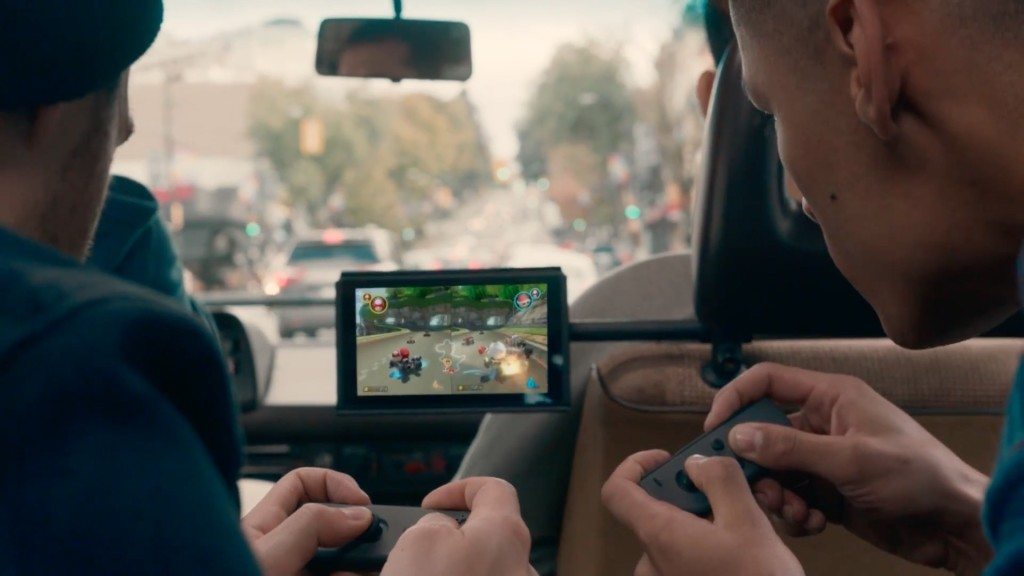 Nintendo Switch: supporto a schede SD ma niente hard disk