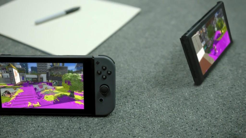 Nintendo Switch: schermo touch HD da 6.2 pollici