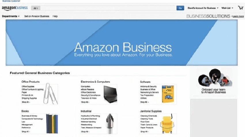 Arriva in Italia Amazon Business, l'eCommerce per le aziende