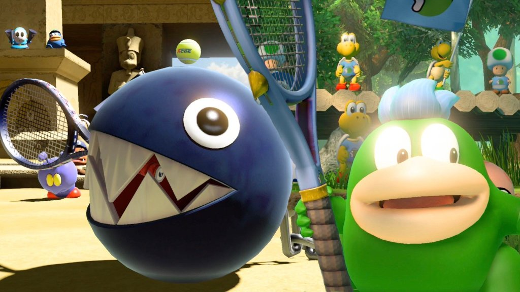 mario tennis aces chain chomp spike gameplay sazb