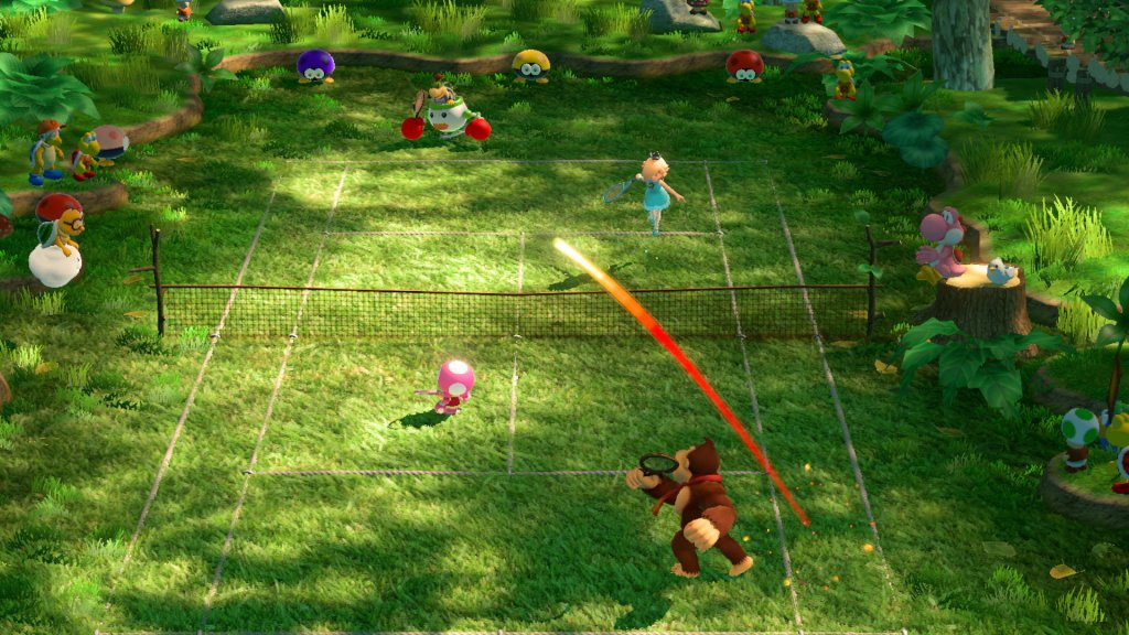 mario tennis aces doubles