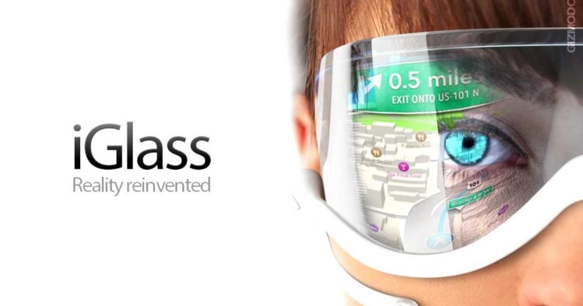 Occhiali a realtà aumentata Apple migliori dei Google Glass?