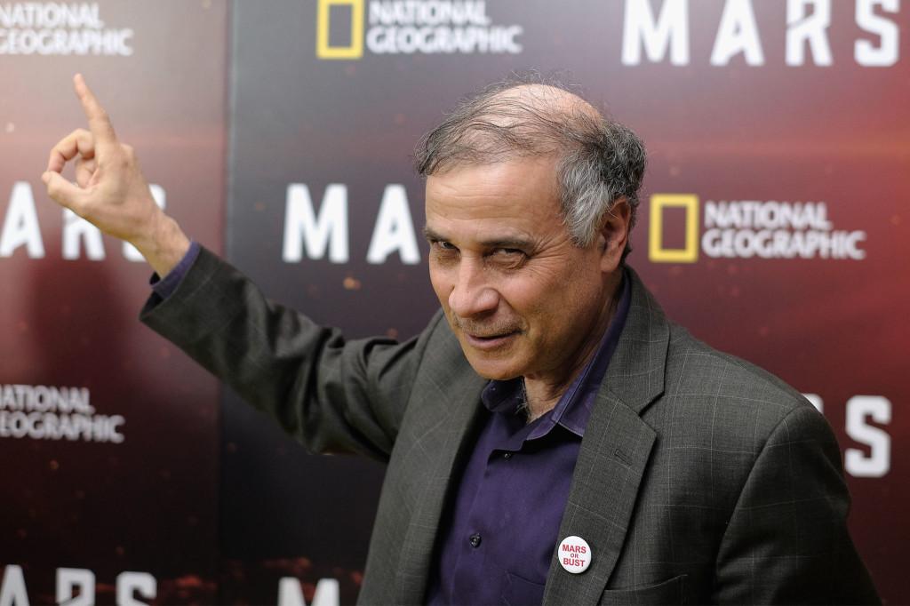 Robert Zubrin, fondatore e presidente della Mars Society, è uno dei molti esperti che hanno contribuito alla nuova serie Marte di National Geographic