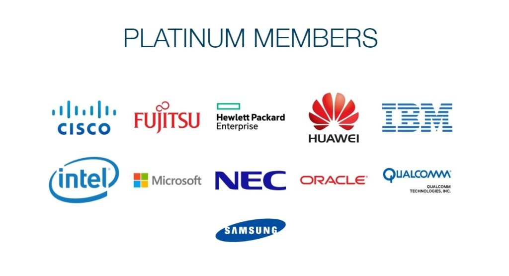 linux foundation platinum members