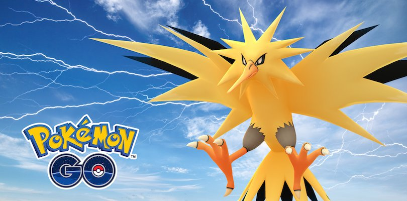 Zapdos Day Pokemon GO