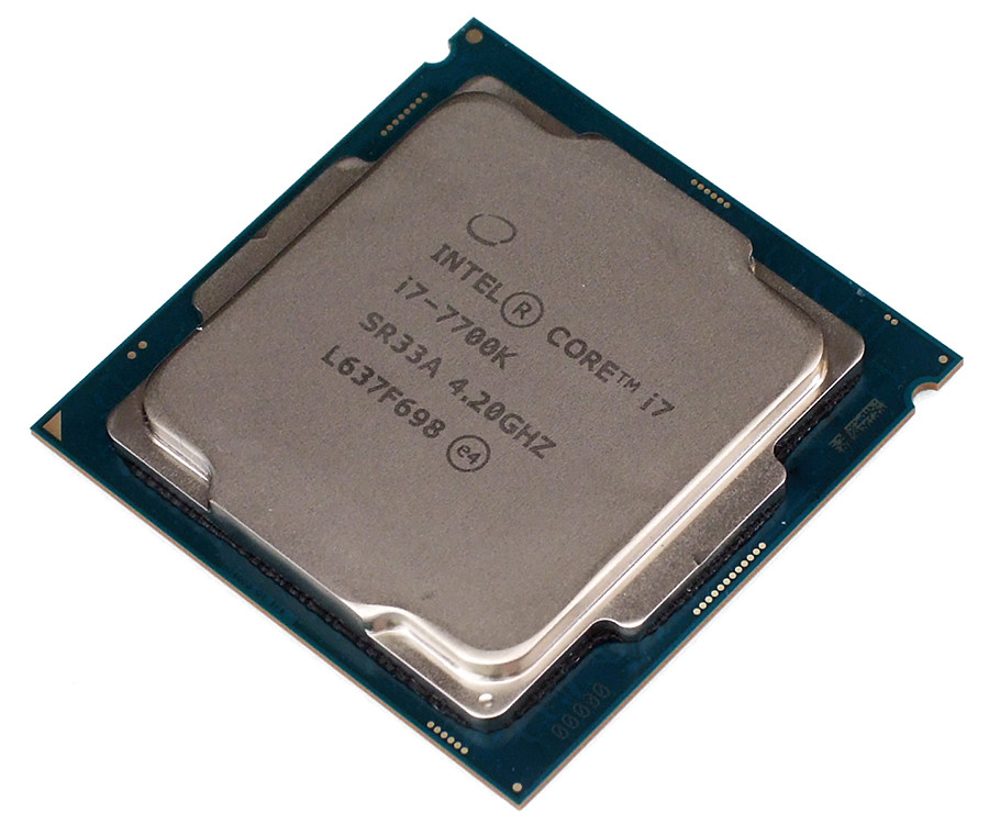 Core i7 7700K sample