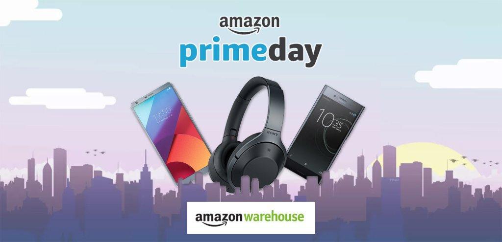 Prime Day, 20% di sconto sul catalogo Amazon Warehouse Deals