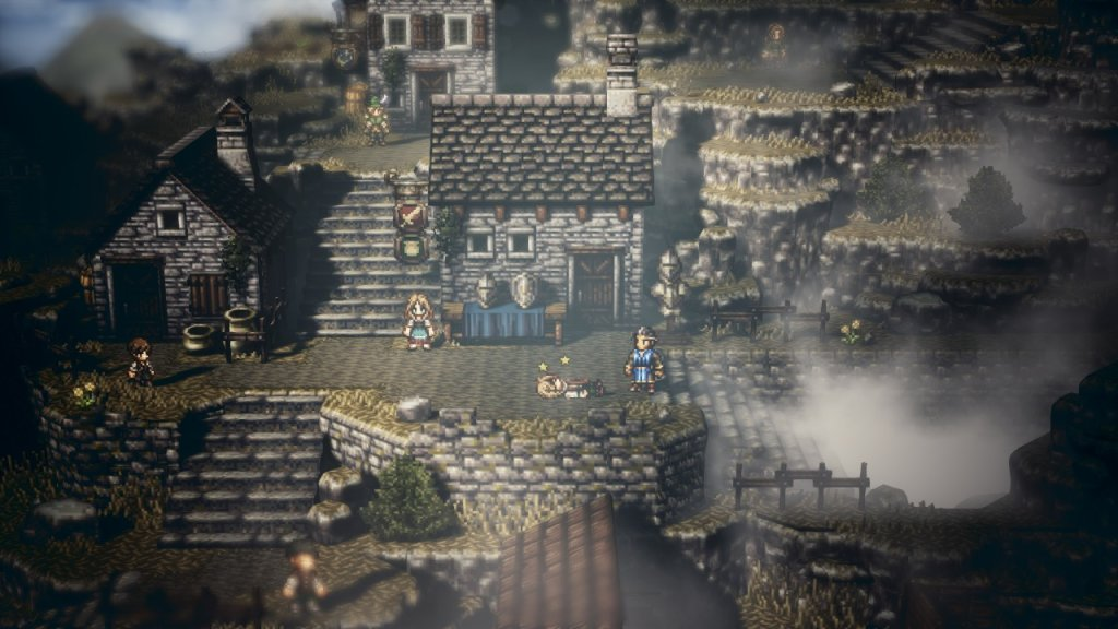 Project Octopath Traveler   Screenshot 01