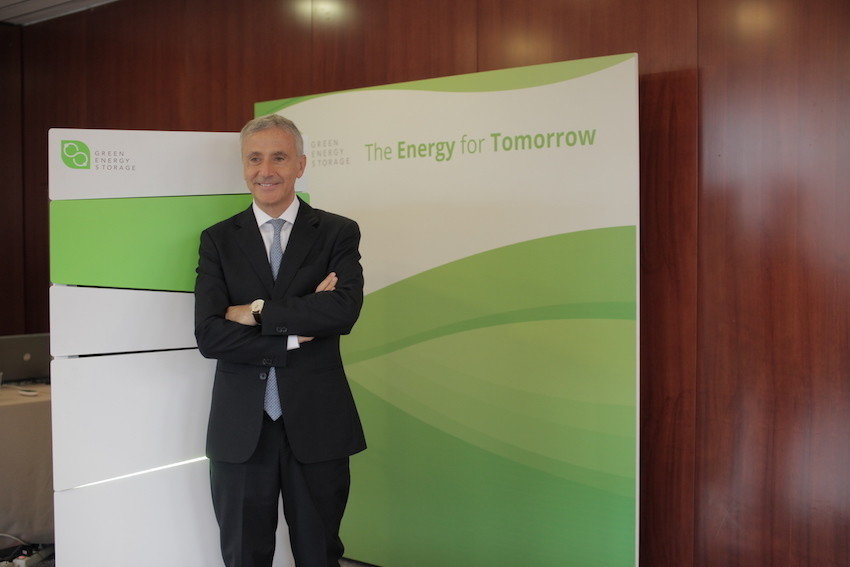 Salvatore Pinto, Presidente di Green Energy Storage