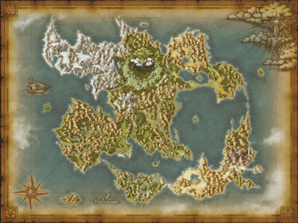 Dragon Quest XI map
