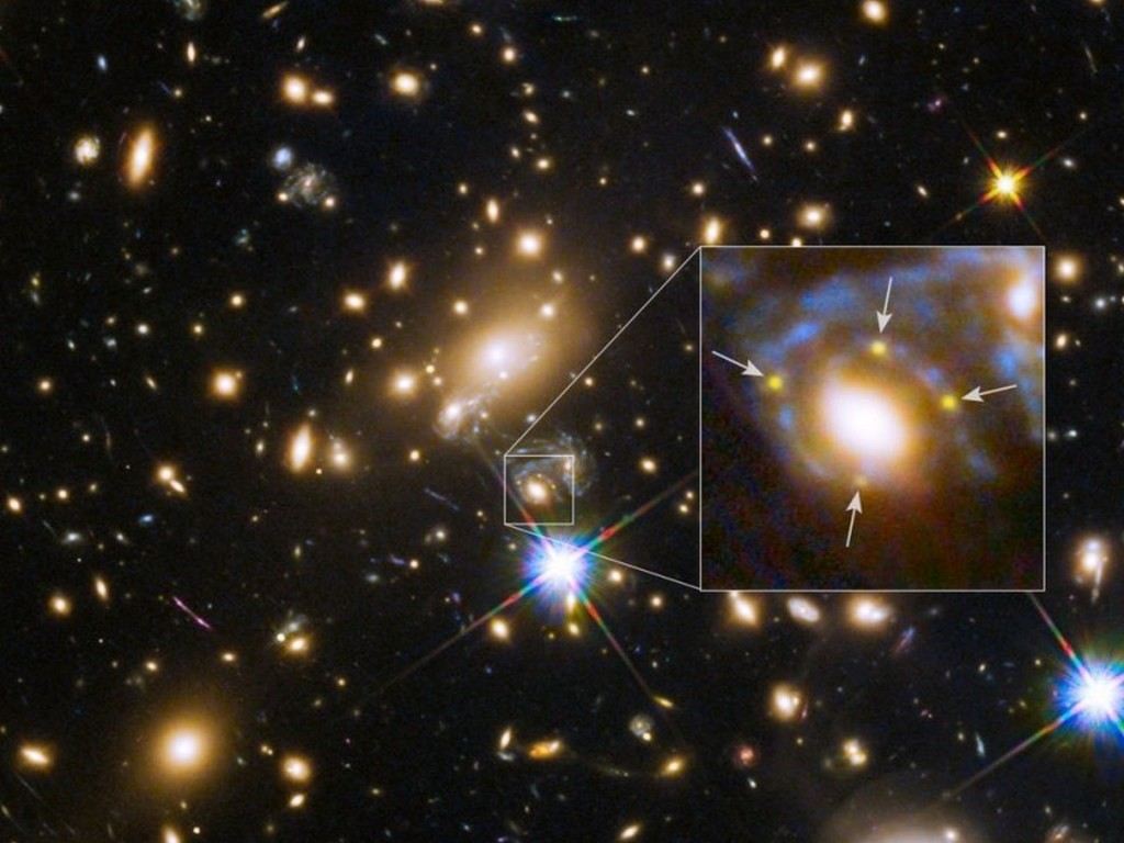 first exploding star prediction gravity lens 3 740fd0913453d2ed9580d1c6796a40a0f