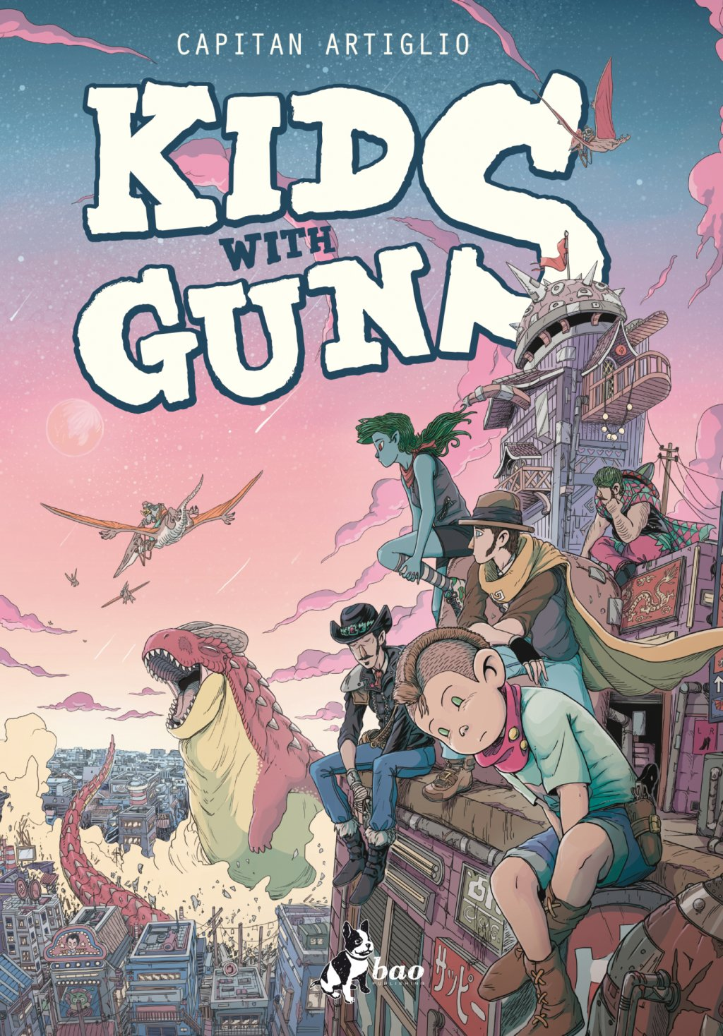 COVER KIDS WITH GUNS regular
