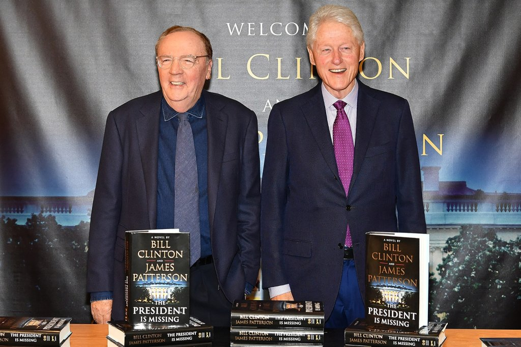 James Patterson e Bill Clinton