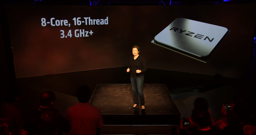 amd lisa su ryzen event