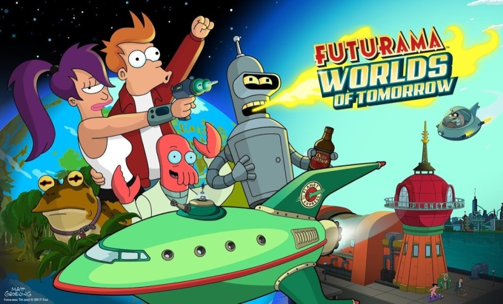 Futurama Worlds of Tomorrow 2