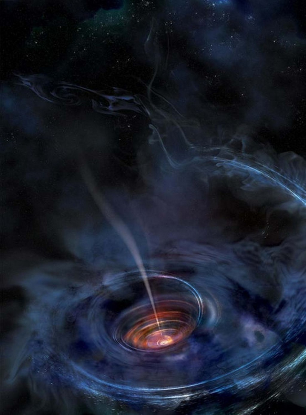 black hole accretion
