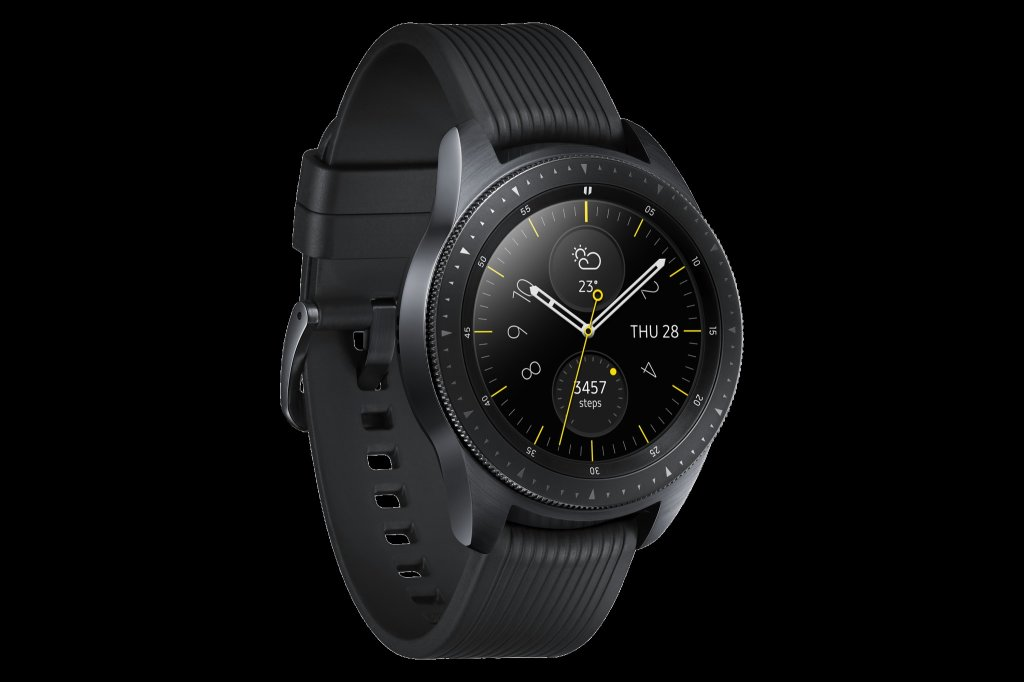 04 Galaxy Watch L Perspective Midnight Black