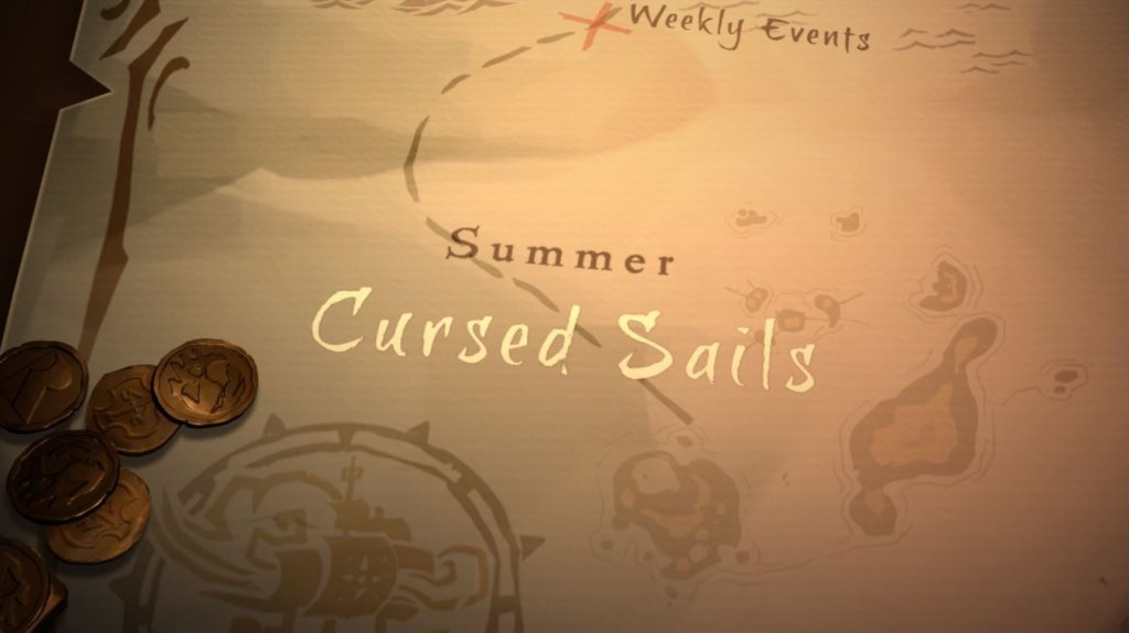 Sea of Thieves Cursed Sails
