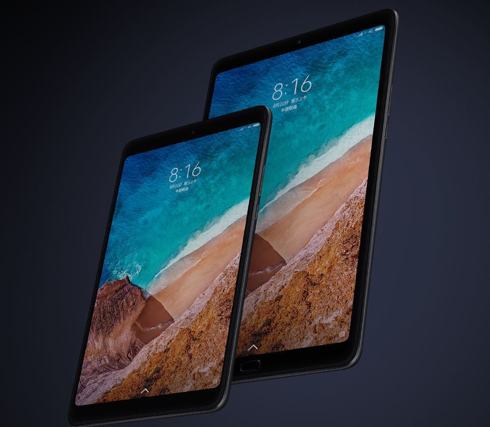 Xiaomi Mi Pad 4 and 4 Plus