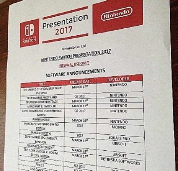 switch leak