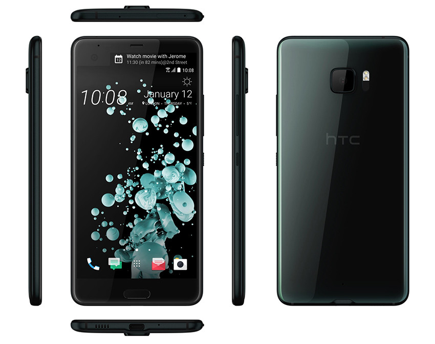 HTC U Ultra Brilliant Black 4