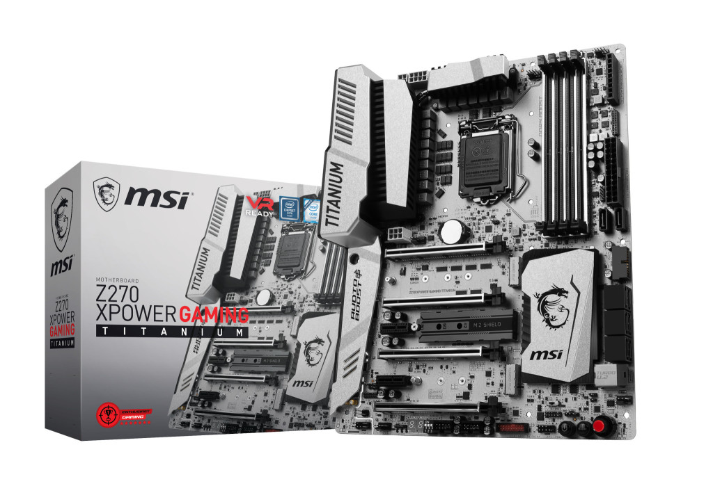 msi z270 xpower gaming titanium product pictures box