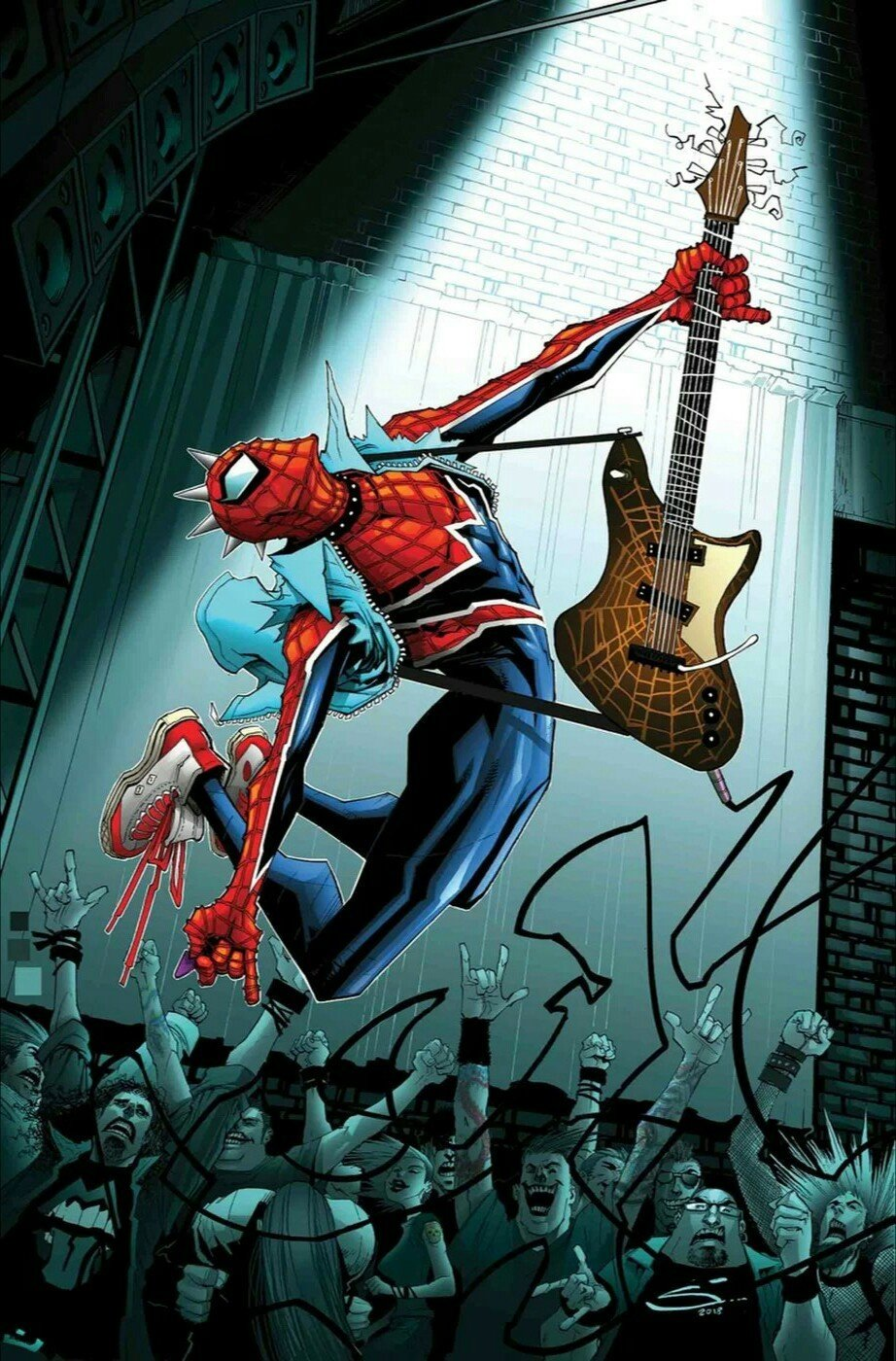 Edge of Spider Geddon Vol 1 1 Textless