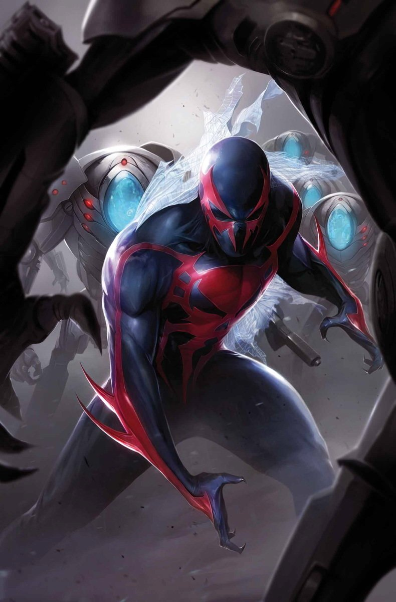 Spider Man 2099 Vol 2 3 Textless