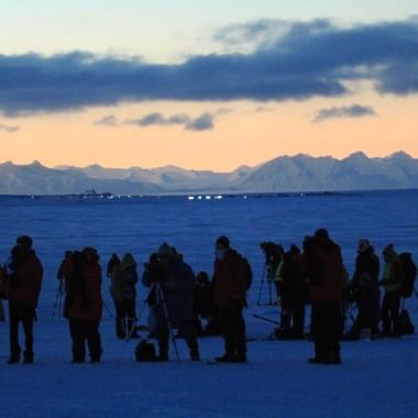 Eclissi di Sole alle Isole Svalbard - foto di Giuseppe Piccinotti