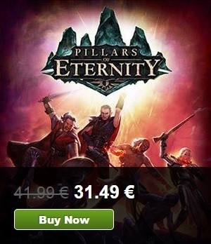 pillars of eternity   offerta