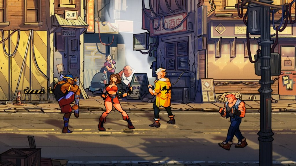 streets of rage 4 pc 50
