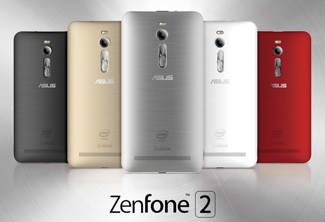 nexus2cee ASUS ZenFone 2 color line up 2