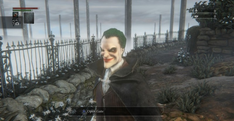 joker in bloodborne
