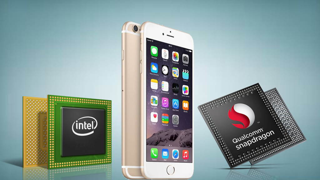iphone modem intel qualcomm
